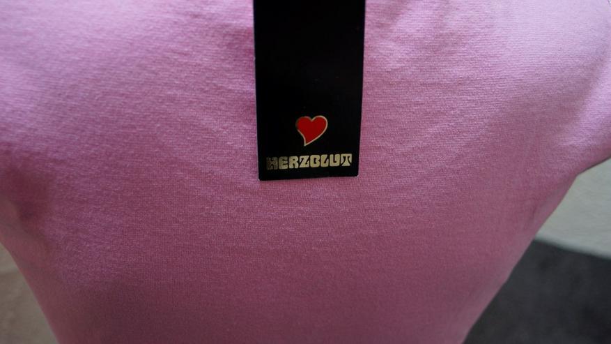 Bild 4: Süßes Top m. plastischem Print, rosa, Herzblut