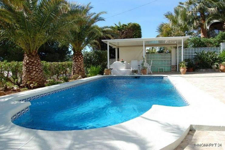 Bild 2: Sehr gepflegte Villa mit Meerblick