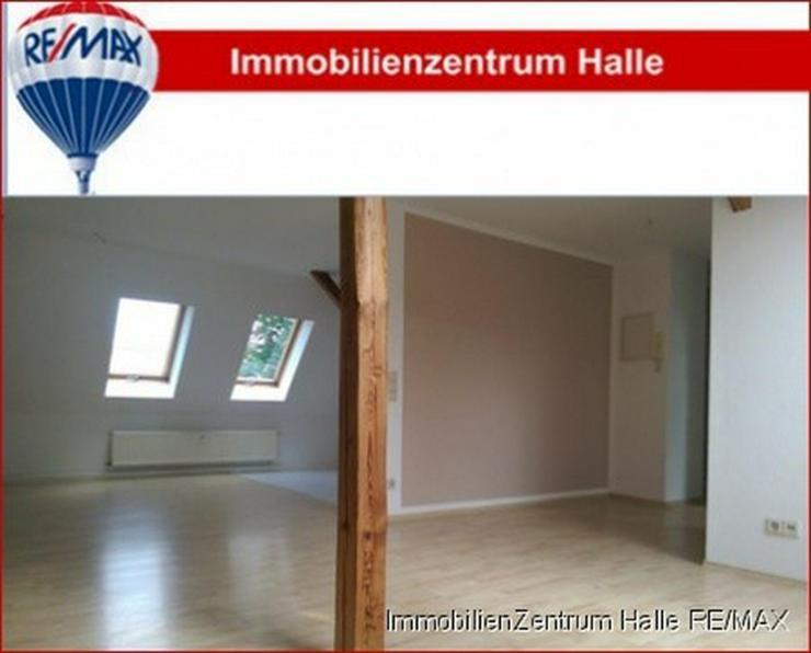 Schicke 3-Raum DG Wohnung mit offener Küche, hellem Laminat in der Südstadt/ Rosengarten...
