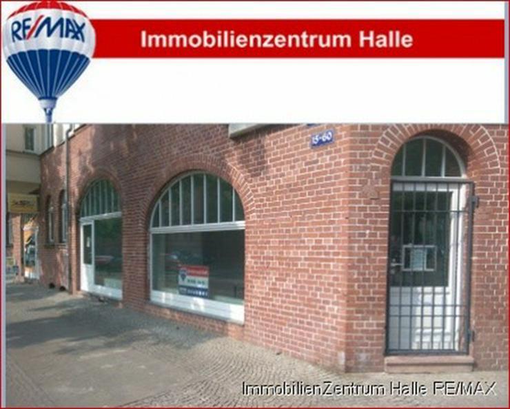 Top Lage! Modernes Ladengeschäft mit großen Fensterfronten zwischen Giebichenstein /Paul... - Gewerbeimmobilie mieten - Bild 1