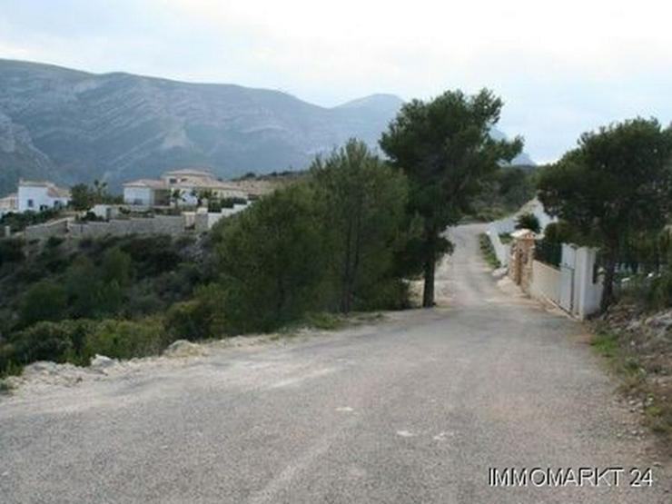 Bild 5: Grundstück mit phantastischem Meerblick in Pedreguer