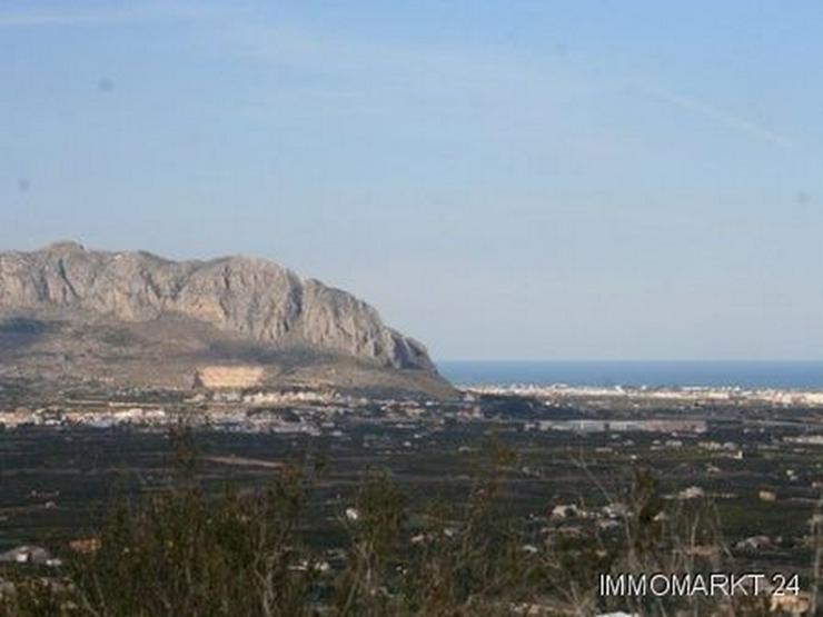 Grundstück mit phantastischem Meerblick in Pedreguer - Grundstück kaufen - Bild 1