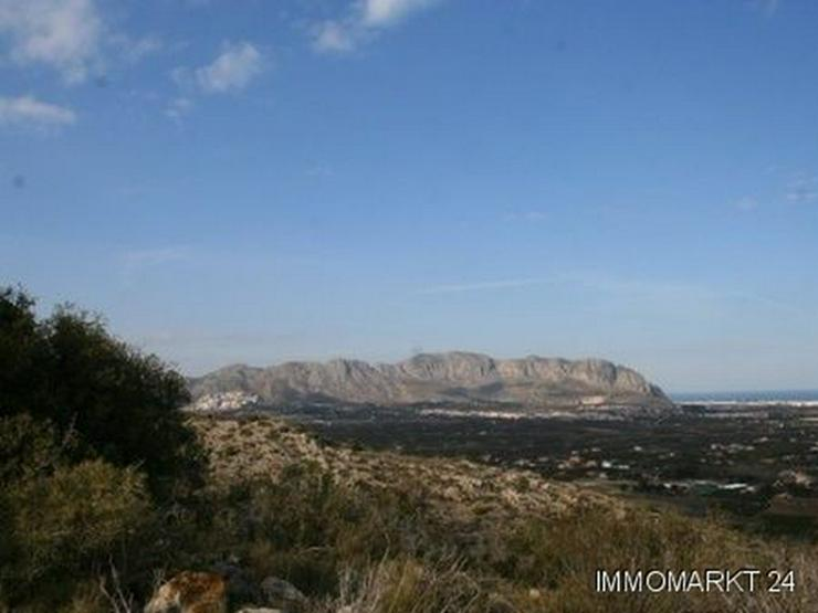 Bild 2: Grundstück mit phantastischem Meerblick in Pedreguer