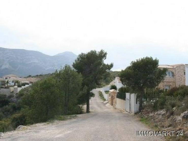 Bild 6: Grundstück mit phantastischem Meerblick in Pedreguer