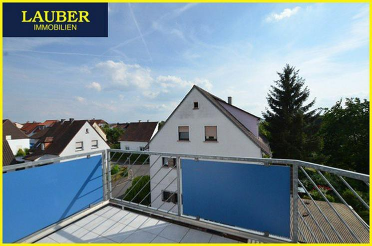 LAUBER IMMOBILIEN: 3-Zi.-DG-Maisonette-Whg. mit Balkon in Gründau / Niedergründau