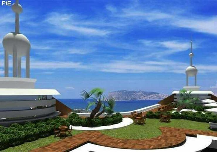 Erstklassiger Neubauwohnkomplex mit Meer- und Burgblick in Mahmutlar /Alanya - Wohnung kaufen - Bild 1