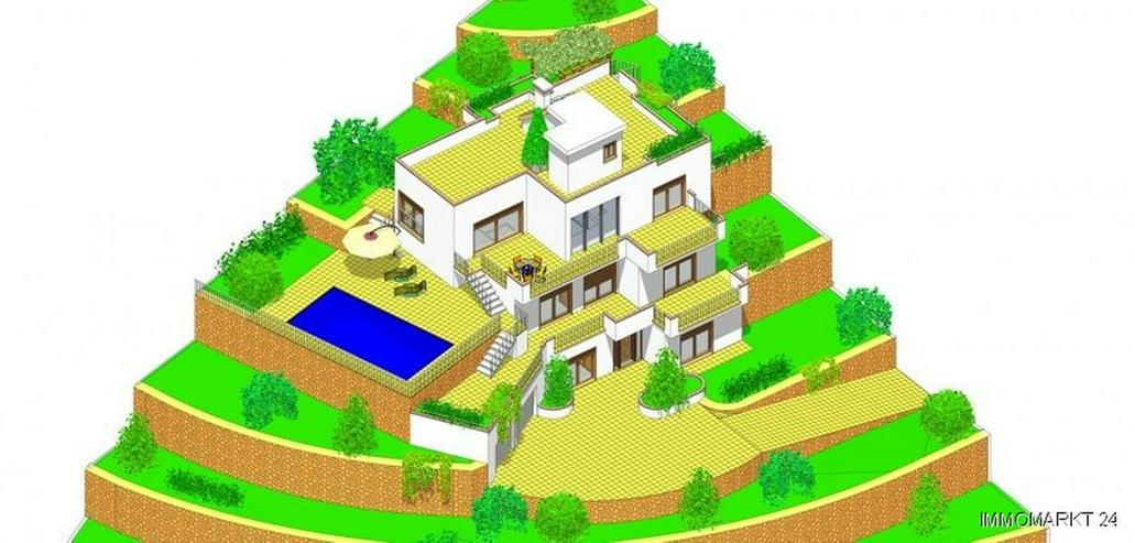 Neubau-Villa mit herrlichem Meerblick - Bild 1