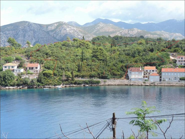 Bild 2: Eine seltene Gelegenheit: 11,300 qm Bauland direkt am Meer an der Küste von Kroatien