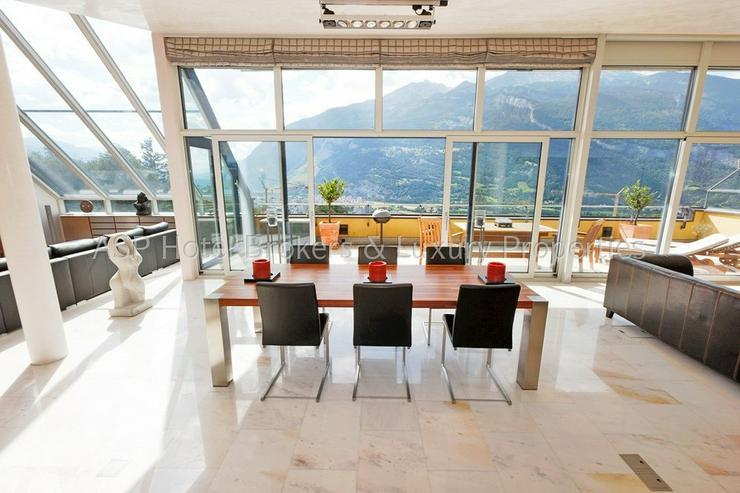 Bild 5: Eine der luxuriösesten High-End Penthouse Wohnungen der Schweiz mit einer Gesamtfläche v...