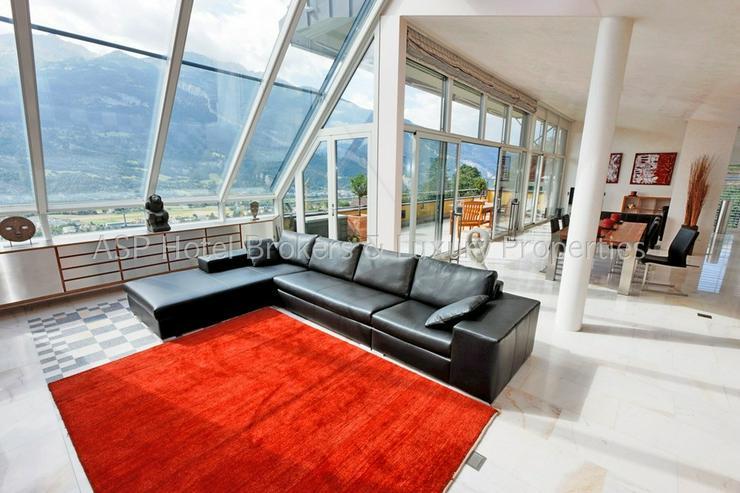 Eine der luxuriösesten High-End Penthouse Wohnungen der Schweiz mit einer Gesamtfläche v... - Wohnung kaufen - Bild 1