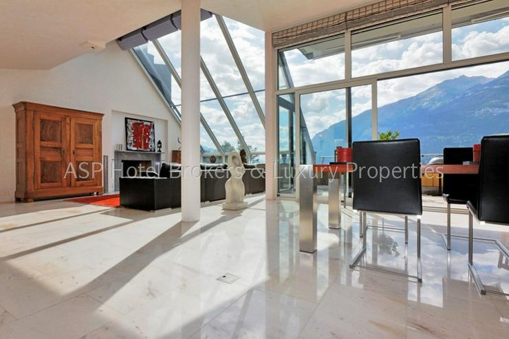 Bild 4: Eine der luxuriösesten High-End Penthouse Wohnungen der Schweiz mit einer Gesamtfläche v...