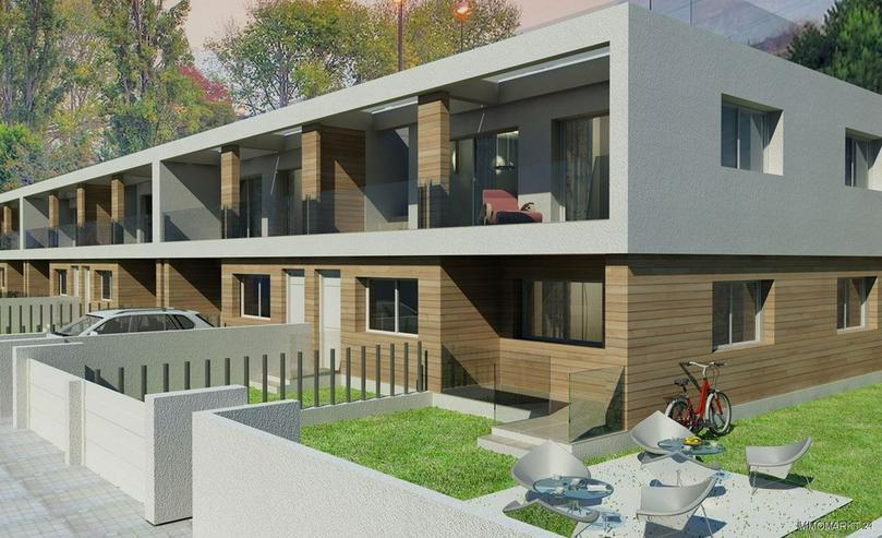 moderne erdgeschoss wohnungen mit gemeinschaftspool in. Black Bedroom Furniture Sets. Home Design Ideas