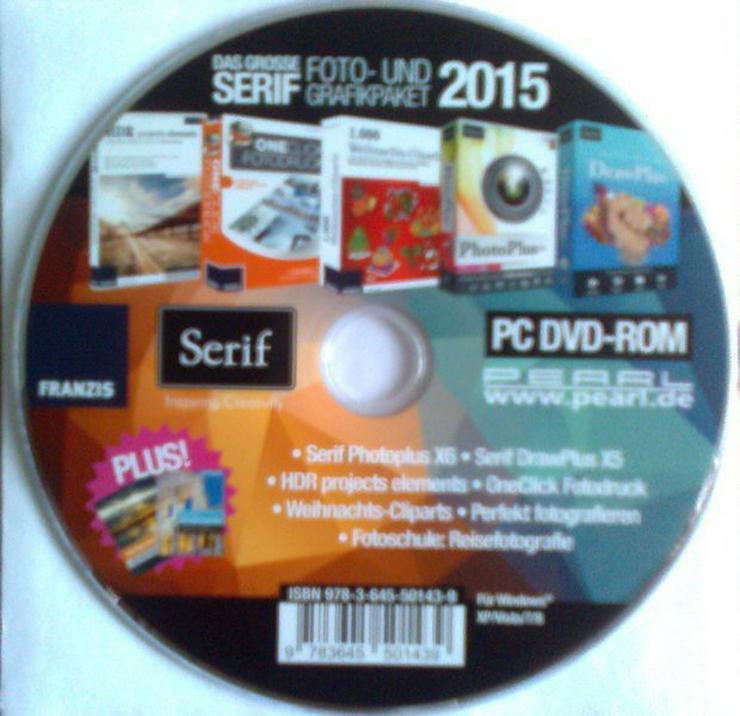 Das große SERIF Foto-und Grafikpaket 2015