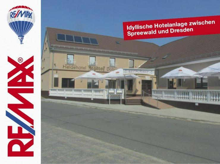 Idyllische Hotelanlage zwischen Spreewald und Dresden