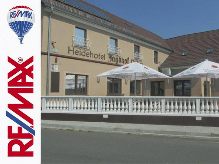 Bild 2: Idyllische Hotelanlage zwischen Spreewald und Dresden