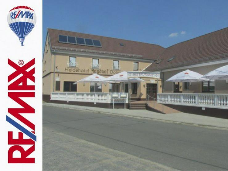 Bild 6: Idyllische Hotelanlage zwischen Spreewald und Dresden