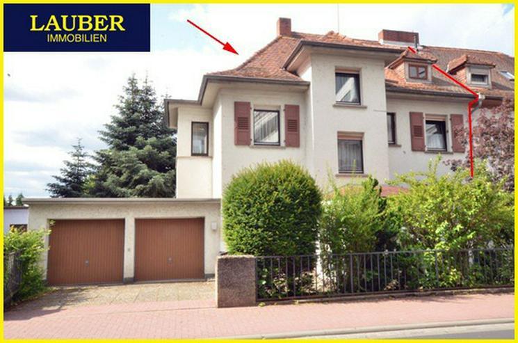 Bild 2: LAUBER IMMOBILIEN: 1-FH/DHH mit Charme in guter Stadtlage, gewerbl. Nutzung mögl.