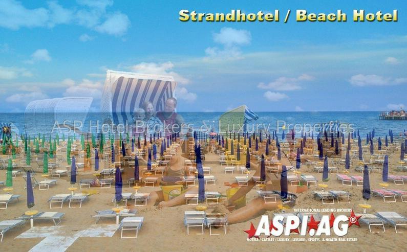 3-Sterne-Sup. 70 Zimmer Strandhotel in der Region Jesolo in erster Meereslinie zu kaufen