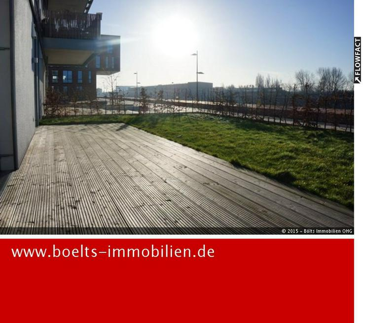 Zwei Monate mietfrei ! Großer Garten mit schöner 3 Zimmer Neubau-Wohnung in der Übersee... - Wohnung mieten - Bild 1