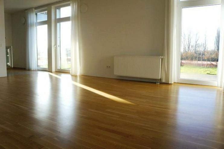 Bild 3: Zwei Monate mietfrei ! Großer Garten mit schöner 3 Zimmer Neubau-Wohnung in der Übersee...