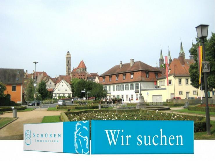 Bamberg / Haingebiet ZUM KAUF GESUCHT: Schicke Eigentums-Wohnung m. Balkon o. Dachterrasse