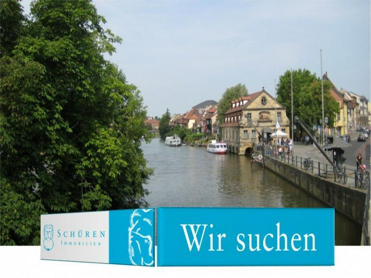 Bamberg / Berggebiet ZUM KAUF GESUCHT: Schicke Eigentums-Wohnung m. Balkon o. Dachterrasse