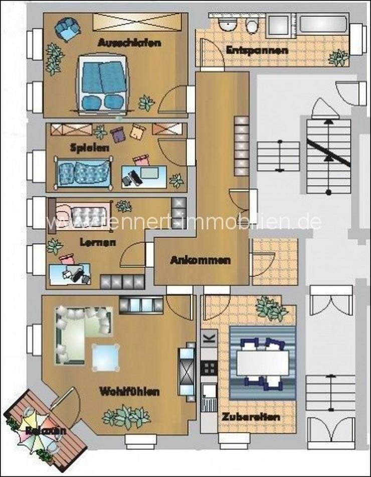 4 Zimmer in Gohlis - Wohnung mieten - Bild 1