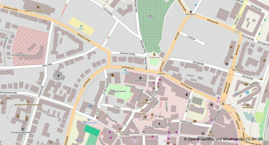 Bild 4: Büro / Praxisräume in ansprechendem Altbau in der Innenstadt von Recklinghausen