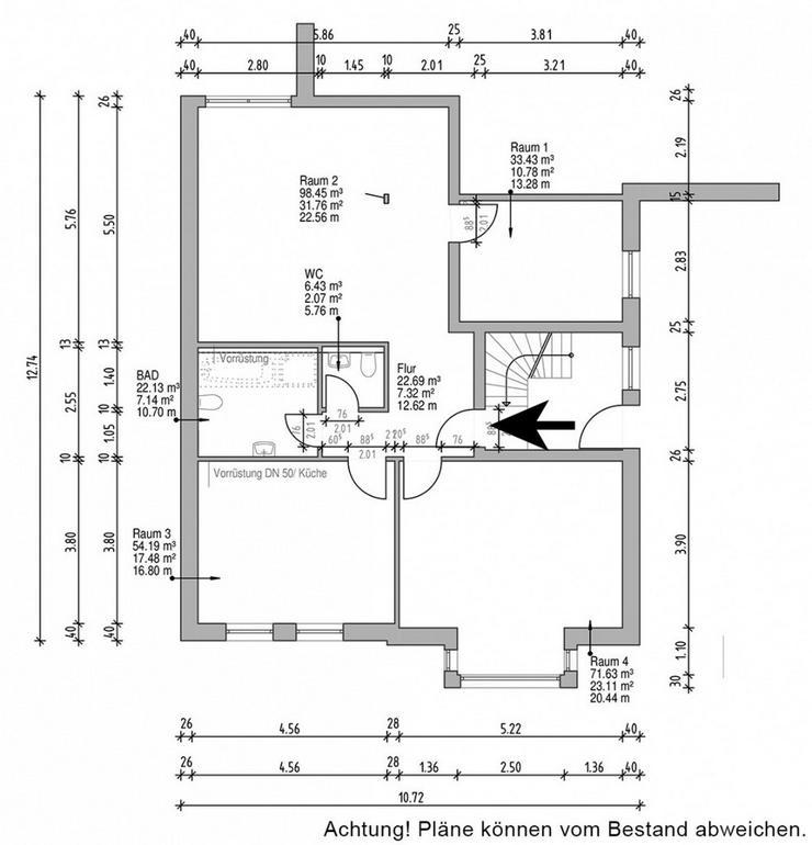 Bild 2: Büro / Praxisräume in ansprechendem Altbau in der Innenstadt von Recklinghausen