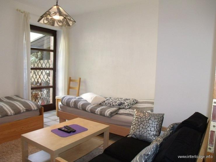 INTERLODGE für MONTEURE: Komplett möbliertes Apartment in Herne-Mitte mit Terrasse für ... - Wohnen auf Zeit - Bild 1