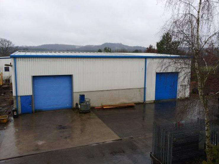 Werkhalle im Gewerbegebiet - Gewerbeimmobilie mieten - Bild 1