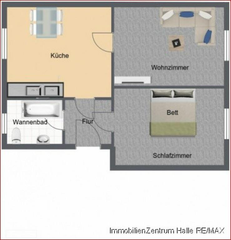 Bild 6: Süße 2 Raum-Wohnung mit großer Küche und Wannenbad in der Südstadt, Nähe Rosengarten...