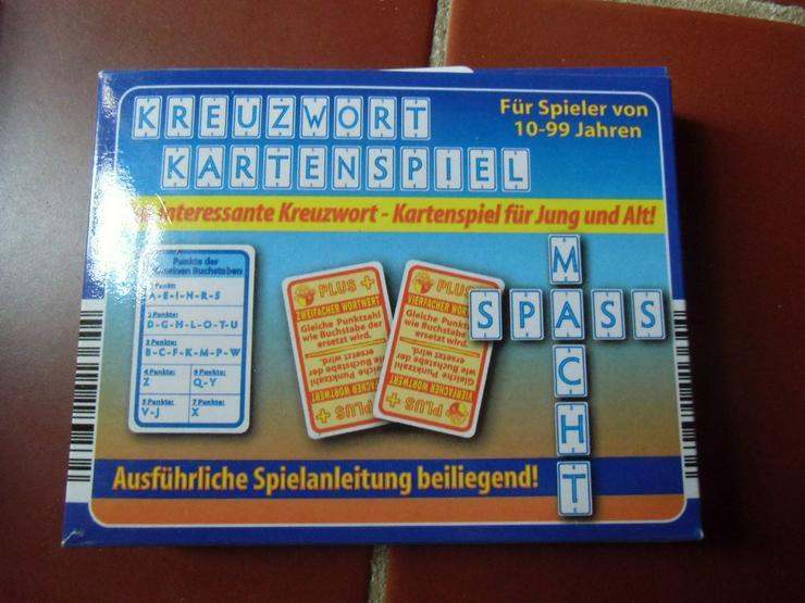 Kreuzwort Kartenspiel für Jung und Alt
