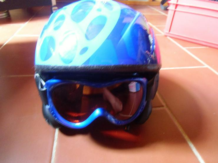 Bild 2: Kinder-Ski-/Snowboard-Helm samt Brille