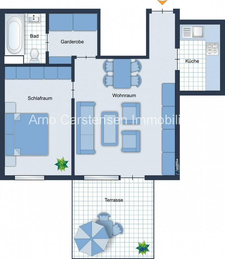 Bild 3: ++ IDEALE EINSTEIGERWOHNUNG ... 49 m² ... ZENTRALE LAGE ... GUTE VERMIETBARKEIT