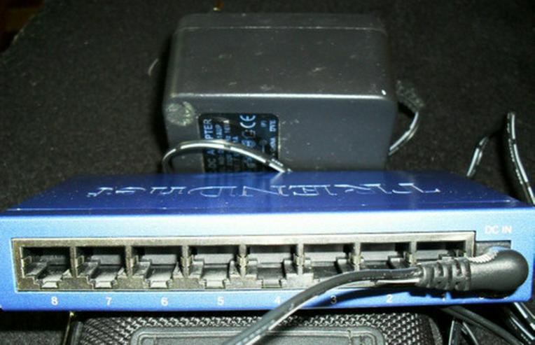 Netzwerkverteiler, Ethernet Switch
