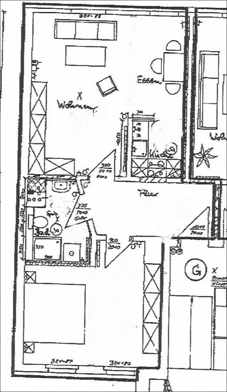 Bild 2: Dachgeschosswohnung in Lindenau zum kleinen Preis!