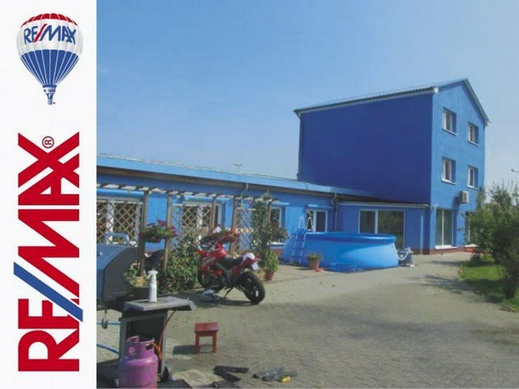 Bild 2: Gewerbehof/Baugrundstück/Wohnfläche