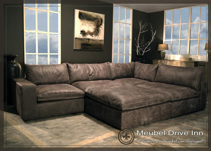 Leder Eck sofa Lionel Richie Ancora Collection
