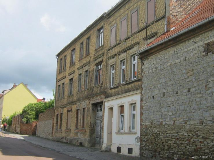 Bild 3: Sanierungsobjekt unmittelbar in der Innenstadt von Aschersleben
