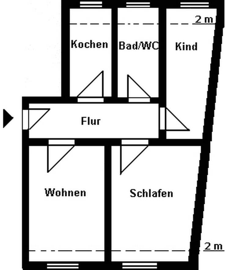 3-Raum-Wohnung! - Wohnung mieten - Bild 1