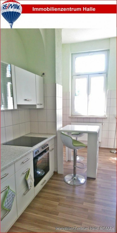 TOP ! Tolle 4-Raum Altbauwohnung (110 ²) mit EBK, Parkett und Garten im Osten von Halle...