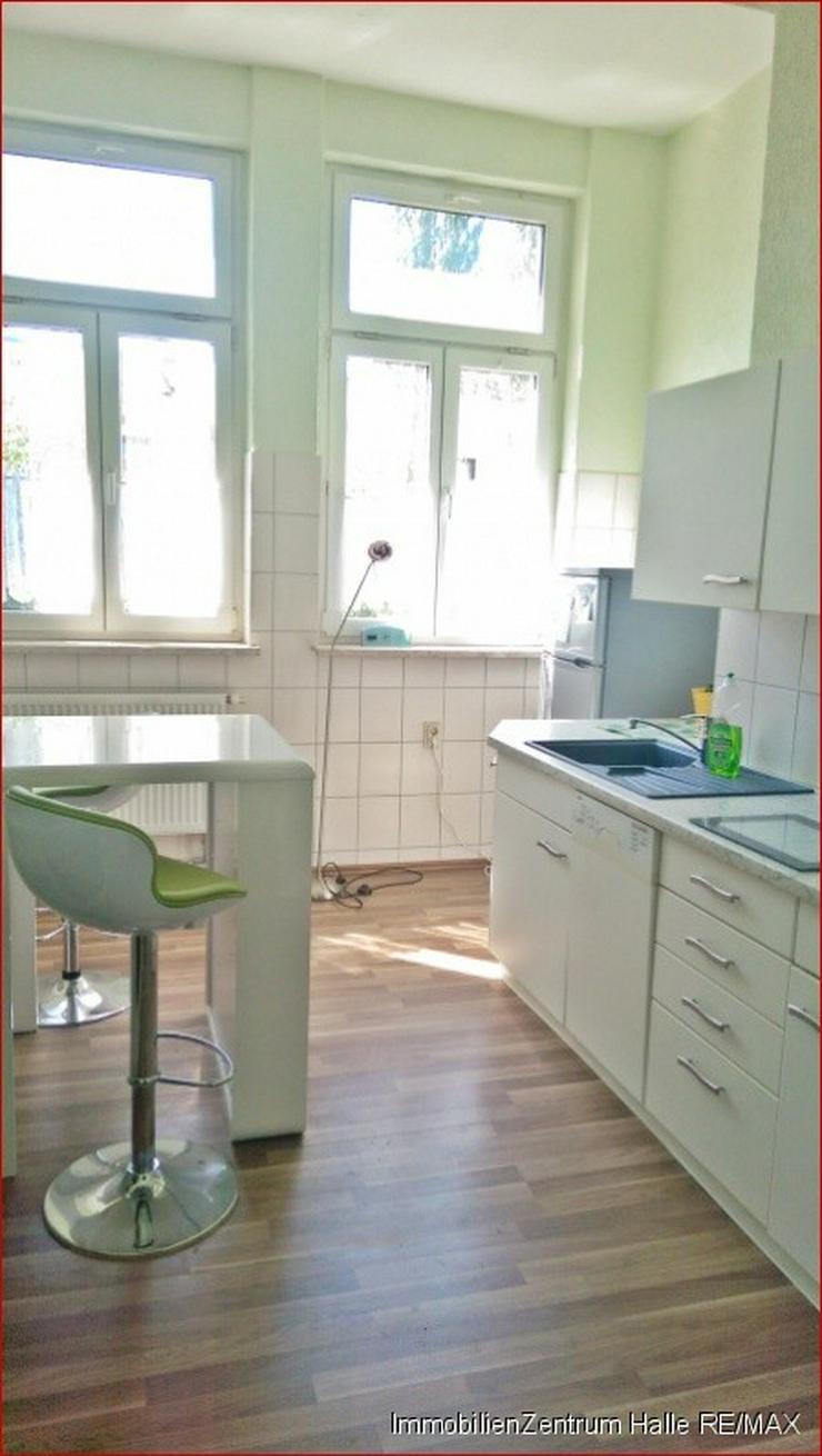 Bild 2: TOP ! Tolle 4-Raum Altbauwohnung (110 ²) mit EBK, Parkett und Garten im Osten von Halle...