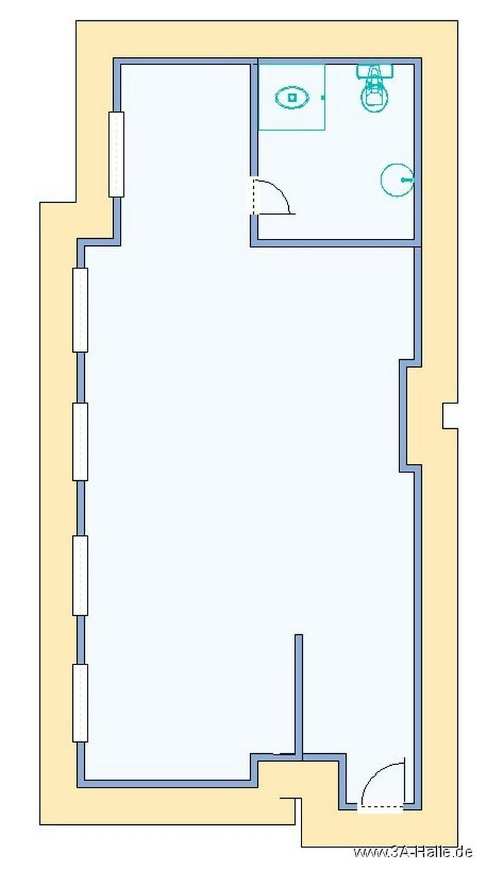 1-Raumwohnung in der Altstadt