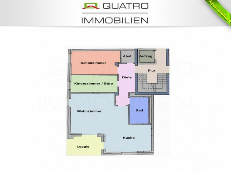 Bild 9: Barrierefreie Wohnung in KfW 70 Wohnhaus