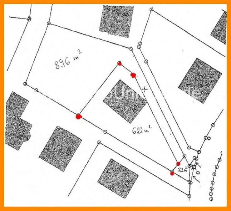 Bild 2: 1. 5 5 0 qm parkähnlicher Bauträgergrund in Villenlage mit Abrisshaus in Zirndorf - WEIH...