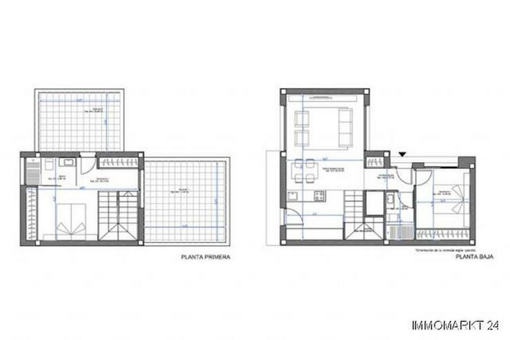 Bild 5: Moderne 3-Zimmer-Villen in abgeschlossener Anlage