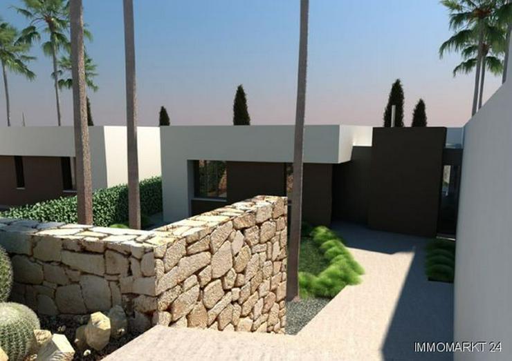 Bild 2: Exklusive 4-Zimmer-Villen mit Privatpool in 1. Linie am Golfplatz