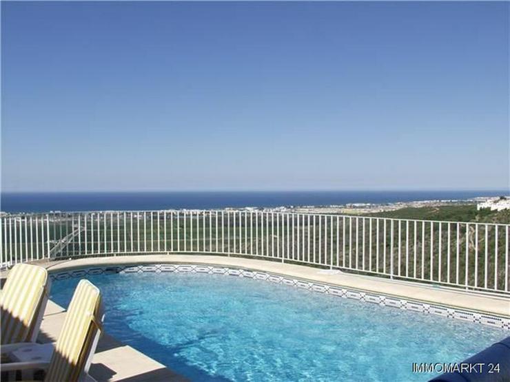 Bild 2: Villa mit traumhaftem Meerblick, Pool und Garage am Monte Pego
