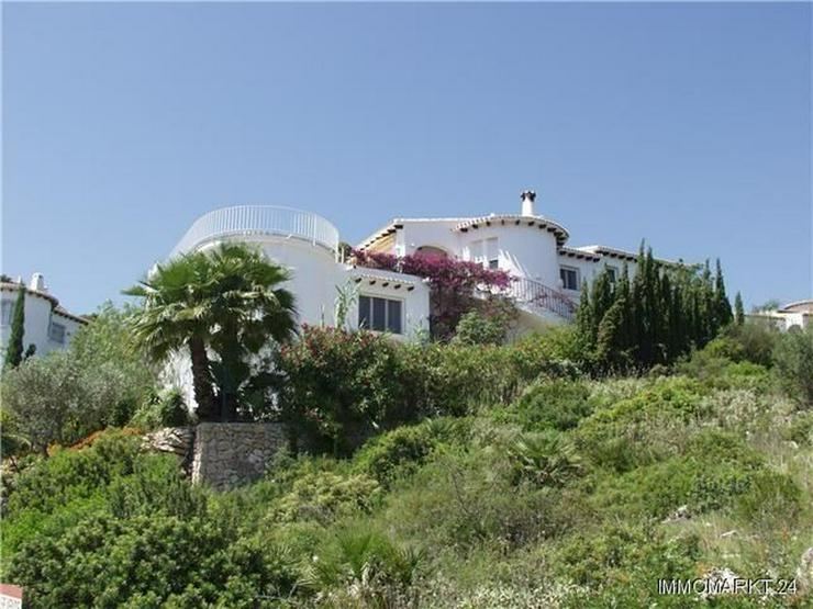 Villa mit traumhaftem Meerblick, Pool und Garage am Monte Pego - Haus kaufen - Bild 1
